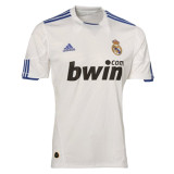 Real Madrid Home Retro Jersey Mens 2010/11