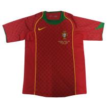 Portugal Retro Home Jersey Mens 2004