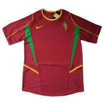 Portugal Retro Home Jersey Mens 2002