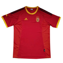 Spain Retro Home Jersey Mens 2002