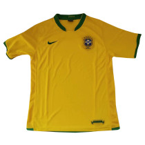 Brazil Retro Home Jersey Mens 2006