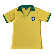 Brazil Retro Home Jersey Mens 1957