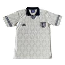 England Retro Home Jersey Mens 1990
