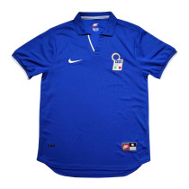Mens Italy Retro Home Jersey 1998 World Cup