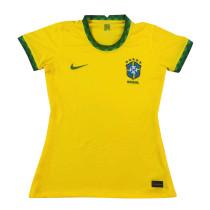 Womens Brazil Home Jersey 2021