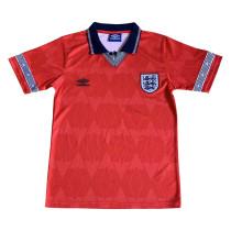England Retro Away Jersey Mens 1990