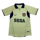 Arsenal Retro Away Jersey Mens 2002