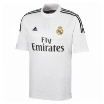 Real Madrid Retro Home Jersey Mens 2014/15