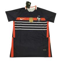 Mens France Short Training Jersey Black 2020/21