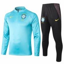 Mens Brazil Training Suit Blue 2020/21