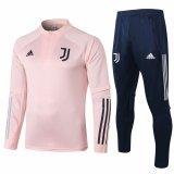 Mens Juventus Training Suit Pink 2020/21