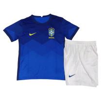 Kids Brazil Away Jersey 2021