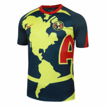 Mens Club America Short Training Jersey Navy 2020/21
