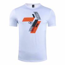 Mens NIKE CR7 T-Shirt CU9572 White 2020/21