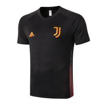 Mens Juventus Short Training Jersey Black 2020/21