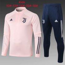 Kids Juventus Training Suit Pink 2020/21