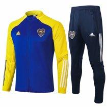 Mens Boca Juniors Jacket + Pants Training Suit Blue 2020/21