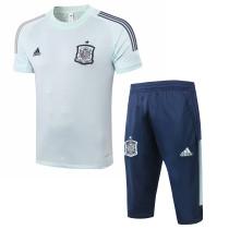 Mens Spain Short Training Suit Mint 2020/21