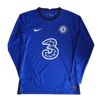 Chelsea Home Jersey Long Sleeve Mens 2020/21