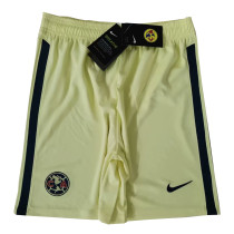 Club America Home Shorts Mens 2020/21