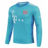 Bayern Munich Goalkeeper Blue Jersey Long Sleeve Mens 2020/21