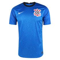 Corinthians Goalkeeper Blue Jersey Mens 2020/21