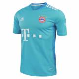Bayern Munich Goalkeeper Blue Jersey Mens 2020/21