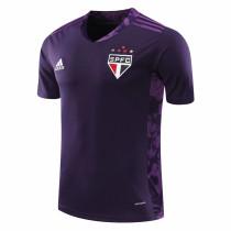 Sao Paulo FC Goalkeeper Purple Jersey Mens 2020/21