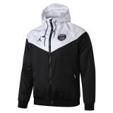 Mens PSG All Weather Windrunner Jacket White - Black 2019/20