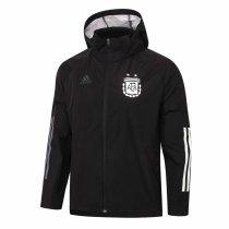 Mens Argentina All Weather Windrunner Jacket Black 2020/21