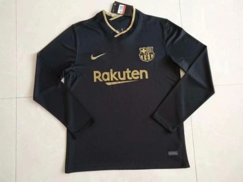 us 16 8 barcelona away jersey long sleeve mens 2020 21 m fcsoccerworld com barcelona away jersey long sleeve mens