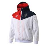 Mens PSG All Weather Windrunner Jacket Red - Blue 2019/20