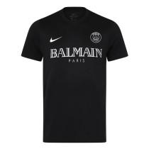 Mens PSG x Balmain T-Shirt Black 2020/21
