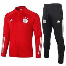 Mens Ajax Jacket + Pants Training Suit Red 2020/21