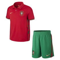Portugal Home Jersey Kids 2020