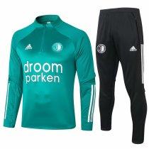 Mens Feyenoord Training Suit Green 2020/21