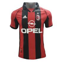 AC Milan Retro Home Jersey Mens 1998-2000
