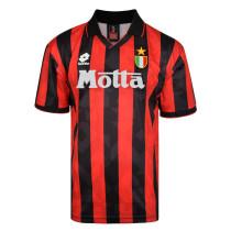 AC Milan Home Retro Jersey Mens 1993/1994