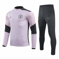 Mens Manchester City Training Suit Pink 2020/21