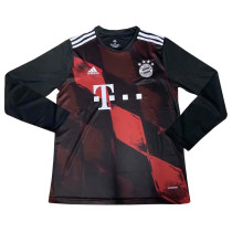 Bayern Munich Third Jersey Long Sleeve Mens 2020/21
