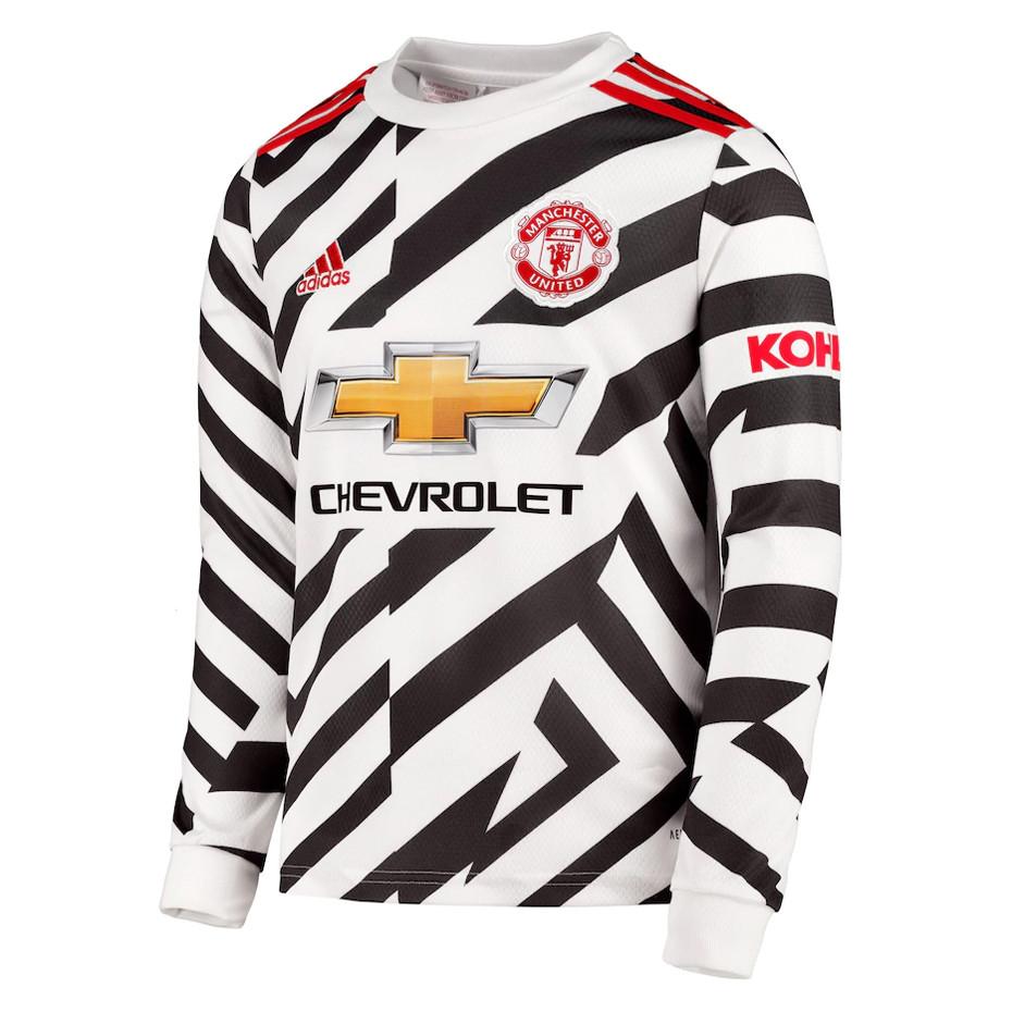 US$ 16.80 - Manchester United Third Jersey Long Sleeve Mens 2020/21 - www.fcsoccerworld.com