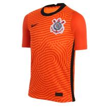 Corinthians Goalkeeper Orange Jersey Mens 2020/21