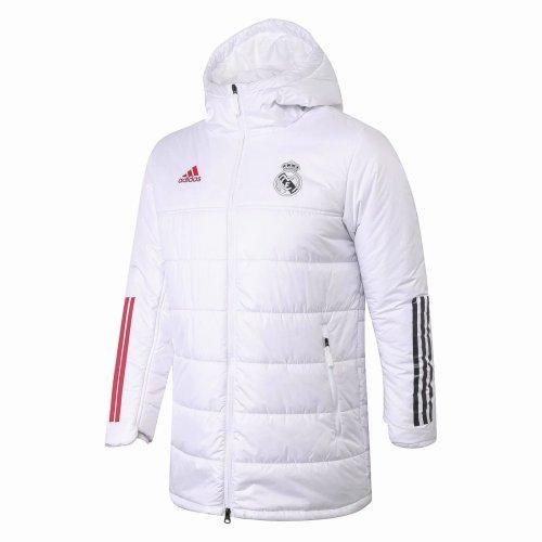 Descenso repentino maletero Salida  US$ 48.80 - Mens Real Madrid Winter Jacket White 2020/21 -  m.fcsoccerworld.com
