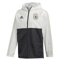 Mens Germany All Weather Windrunner Jacket White - Black 2020/21