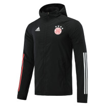 Mens Bayern Munich All Weather Windrunner Jacket Black 2020/21