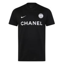 Mens PSG x Chanel T-Shirt Black 2020/21