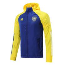 Mens Boca Juniors All Weather Windrunner Jacket Blue 2020/21