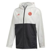 Mens Ajax All Weather Windrunner Jacket White - Black 2020/21