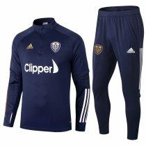 Mens Leeds United Training Suit Navy 2020/21