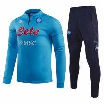 Mens Napoli Training Suit Blue 2020/21